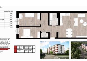 mieszkanie na sprzedaż - Opole, Czarnowąsy